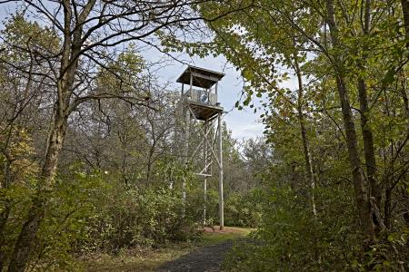 Vietnam war watch tower