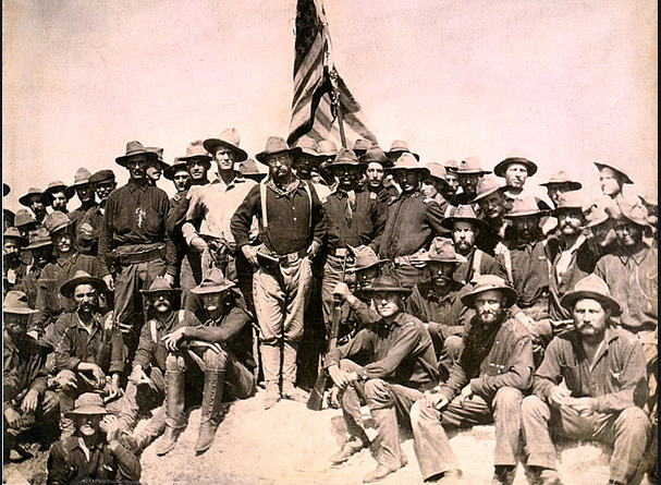 Teddy Roosevelt, Rough Riders, Spanish American War