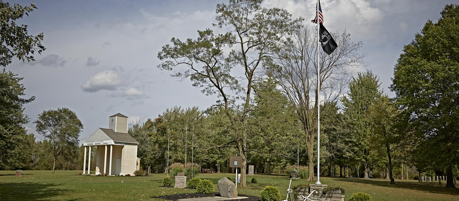Veterans Memorial grounds, veterans museum